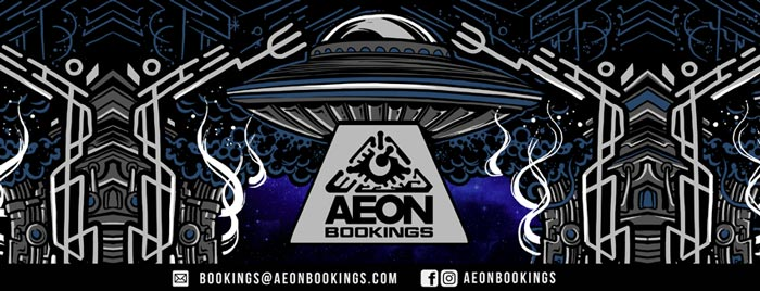 aeon booking psytrance
