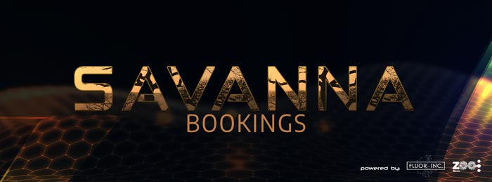 savanna bookings